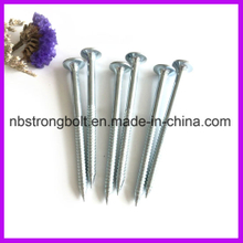 Nail Screw with Zinc Plated 4.5X75/China nail screw factory,China nail screw manufacturer