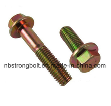 Hex Flange Head Bolt DIN6921 China,China flange bolt factory ,China flange bolt manufacturer
