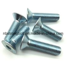 DIN7991 Hex Socket Bolt with Zinc Plated Gr. 10.9/China hex socket screw factory,China screw manufacturer
