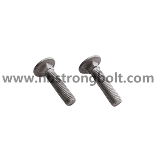 Carriage Bolt DIN603 With HDG
