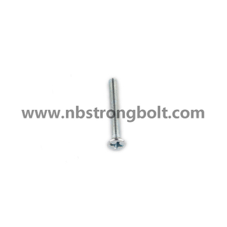 DIN7985 Ph Cross Recessed Raised Cheese Head Screws Zinc/China screw factory,China screw manufacturer
