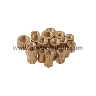 Brass Nut Injection Molded Copper Nut Copper Knurled Nut Copper Stamper
