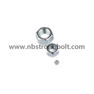 Nylon Lock Nut S|8 with Zinc/China nylon lock nut factory,China nut manufacturer