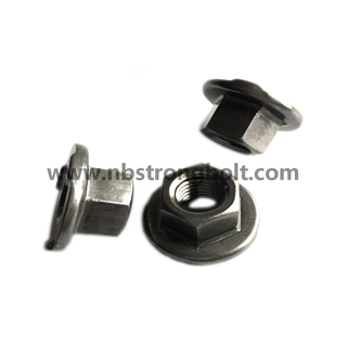 Custom-Made Nuts, Special Nuts Customized, CNC Nut, Non-Standard Parts, M12, Welding Flange Nut