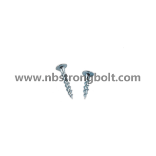 "Phil Bugle HD Coarse Thread Drywall Screws Zinc Plated #6X1.5/8""/China screw factory,China drywall screw manufacturer"