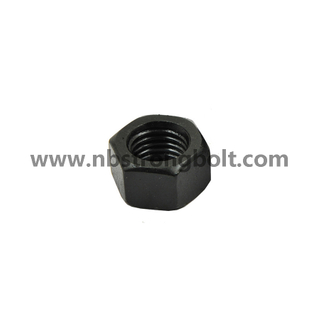 "ASTM A194 Gr. 2h Heavy Hex Nut Black 1.1/8""-7/China nut factory,China hex nut manufacturer"