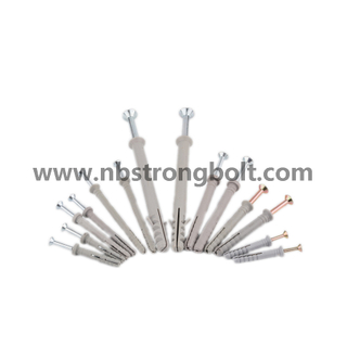 Nylon Anchor with Nail/China nylon anchor factory/anchor nail ,China anchor screw factory