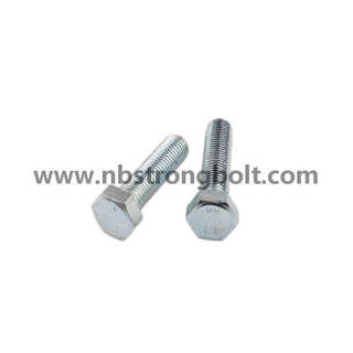 High Tensile Strenght Bolt DIN931/933/China hex bolt factory,China bolt manufacturer