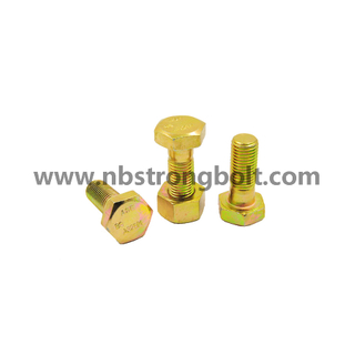 ASTM A193 Stud Bolt Gr. B7 and 2h Nut,China STUD bolt factory,China stud bolt manufacturer