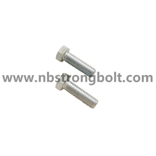 Hex Bolt CL.10.9 With Zinc/ China hex bolt factory /China bolt manufacturer