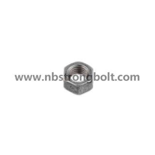 DIN934 Hex Nut Class 8 with HDG M33/China hex nut factory,China hex nut manufacturer