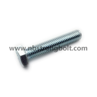 DIN933/DIN931 Hex Bolt with HDG,China bolt factory,China bolt manufacturer