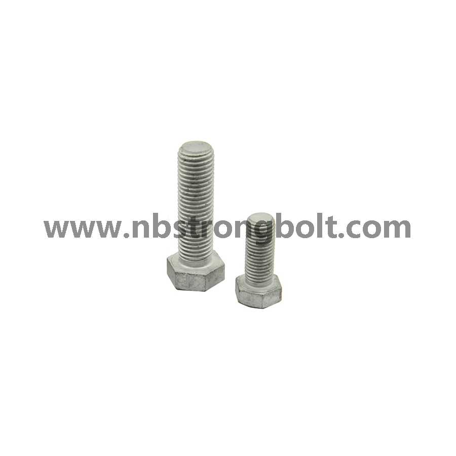 Hex Bolt Hot DIP Galvanized,China hex bolts factory ,China hex bolts manufacturer