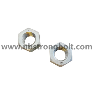DIN934 M36 High Quality Nut Cl.8 With Zinc/China customized nut factory China custonmized nut manufacturer