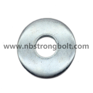 DIN9021 Larg Size Flat Washel with Zinc/flat Washer DIN9021,China Washer factory,China washer manufacturer