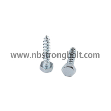 Hex Head Lag Screw with Zinc Plated/China wood screw factory,China screw manufacturer,DIN571