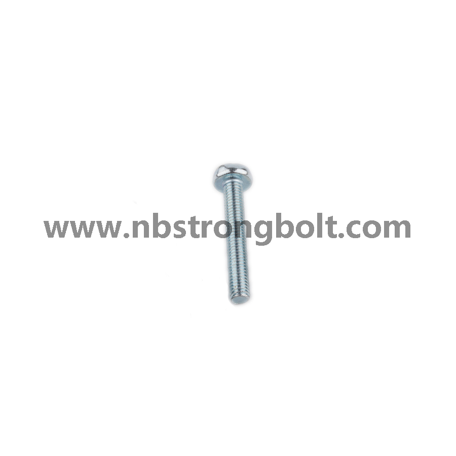 DIN7985 with Zinc Ph Cross Recessed Raised Cheese Head Screws/China screw factory,China screw manufacturer
