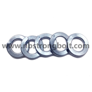DIN127B Spring Lock Washers with Zinc Plated Cr3+ M8/China Washer factory,China washer manufacturer