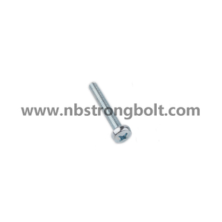 DIN7985 Ph Cross Recessed Raised Cheese Head Screw with Zp/China screw factory,China screw manufacturer