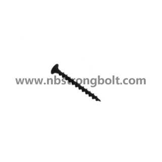 "Phil Bugle HD Fine Thread Drywall Screws Black Phos #6X1.5/8""/China self drilling screw factory,China screw factory"