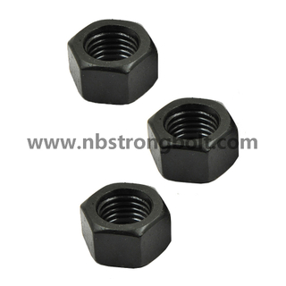 Hex Nut, Nut with Black,,China nut factory ,China nut manufacturer