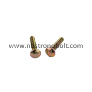 Carriage Bolt Gr. 8.8 with Yzp/China carriage bolt factory,China carriage bolt manufacturer,DIN603
