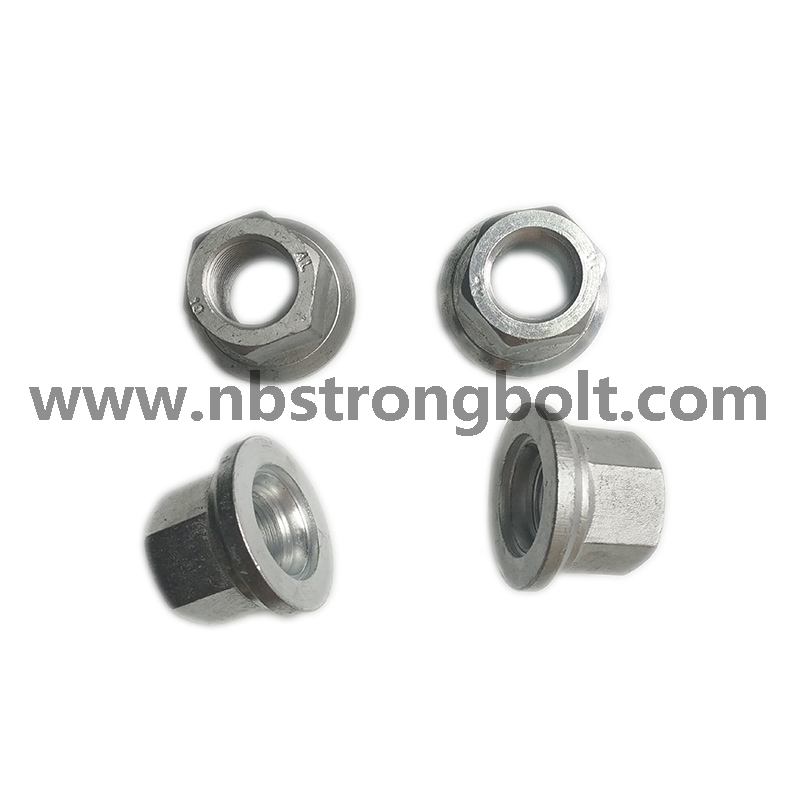 Accept OEM Nonstandard Size Standard Fastener Wheel Nut with Zinc Plated