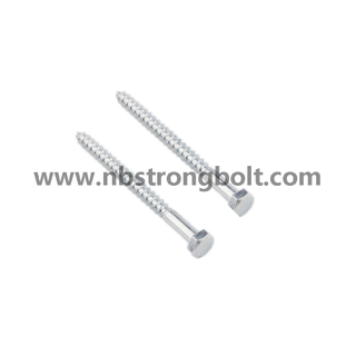 DIN571 Hexgon Wood Screw, Hex Lag Screw/China wood Screw factory,China wood Screw manufacturer