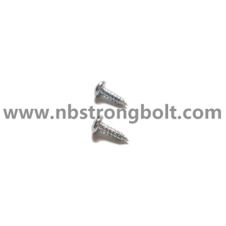 DIN7981 C-H Pan Head Tapping Screw With Cross Recessed M2.9X9.5/China machine screw factory,China machine screw manufacturer