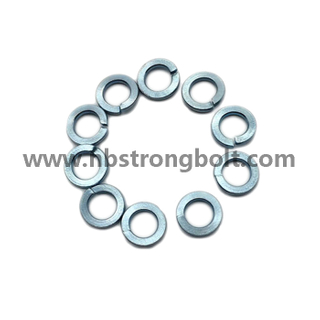 "ASME B 18.21.1 1999 Spring Lock Washers with Zinc Plated Cr3+ 5/32""/China Washer factory,China washer manufacturer"