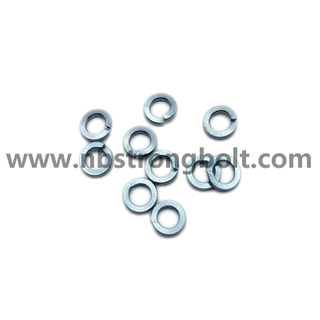 DIN127B Spring Lock Washer with Zinc Plated Cr3+ M3/China Washer factory,China washer manufacturer