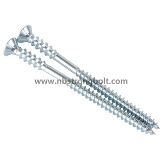 Torx Countersunk Head Double Thread Decking Screw/China screw factory,China screw manufacturer