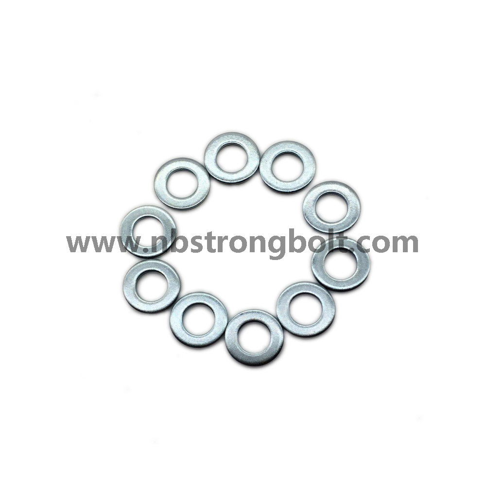 DIN125A Flat Washers Carnbon Steel with Zinc Plated Cr 3+ M12/China Washer factory,China washer manufacturer