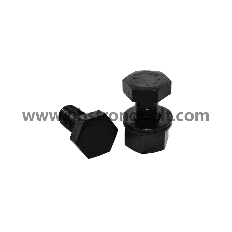 Black Hex Heavy Structual Bolt/China hex bolts manufacturer,China Structural Bolt factory,China astm bolts