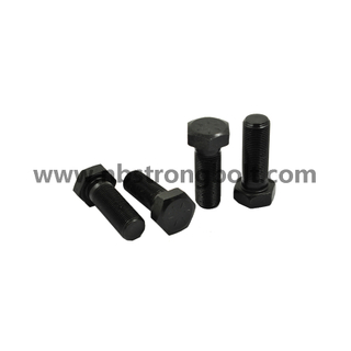 Hex Bolt ANSI/ASTM Gr. 8 with Black Oxid,China hex bolts manufacturer,China Structural Bolt factory,China astm bolts