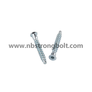 Flat Point Confirmat Screw Carbon Steel/China Confirmat Screw factory,China screw factory