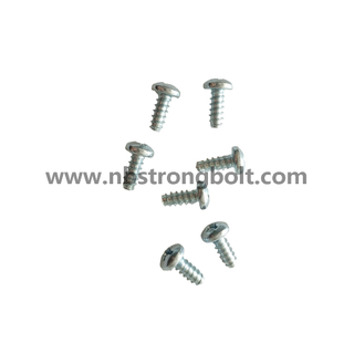 PH Cross Pan Head Screw with Flat End / PH Cross Pan Head Screw manufacturer /PH Cross Pan Head Screw factory / China PH Cross Pan Head Screw with Flat End