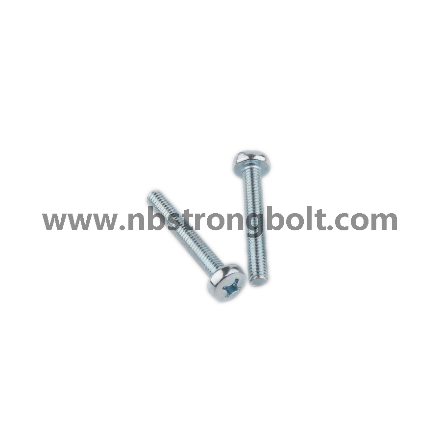 DIN7985 Machine Screw with Zp/China screw factory,China screw manufacturer
