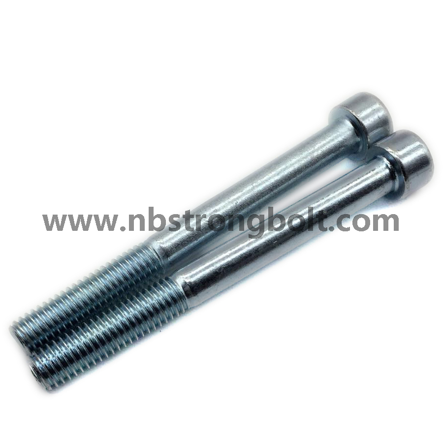 DIN912 Grade 8.8 Hex Socket Head Cap Screw with Zinc Plated Cr3+/China socket bolt factory ,China socket bolt manufacturer