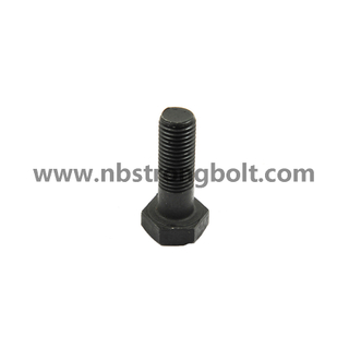 Hex Heavy Structual Bolt with Black\China hex bolts manufacturer,China Structural Bolt factory,China astm bolts