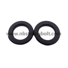 DIN127B Spring Lock Washers with Black Oxid M33/China Washer factory,China washer manufacturer