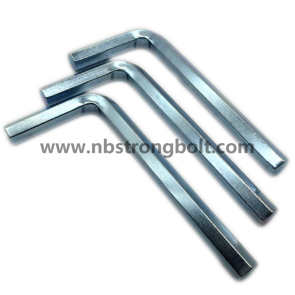 Hex Wrench, Hex Allen Key with Zinc Plated M8/China allen key/wrench factory,China spanner/wrench factory