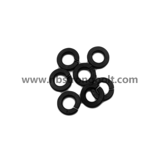 DIN127B Spring Lock Washers with Black Oxid M6 China Washer factory China washer manufacturer