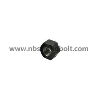 "ASTM A194 Gr. 2h Heavy Hex Nut Black 1.1/2""-6/China nut factory,China hex nut manufacturer"