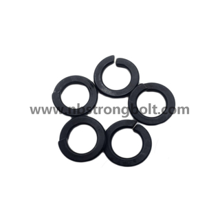DIN127B Spring Lock Washer with Black Oxid M10/Spring Lock Washer DIN127B,China Washer factory,China washer manufacturer