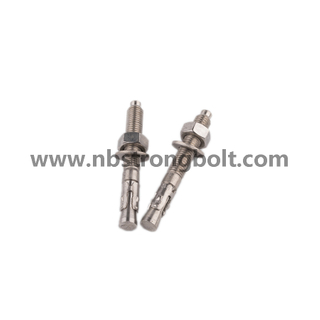 Wedge Anchor Gr. 8.8 with HDG M8XP1.25X95/China wedge anchor factory ,China anchor bolt manufacturer