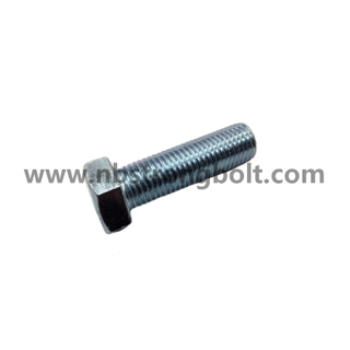 DIN933 Hex Bolts Cl. 4.8 with White Zinc Plated Cr3+ M20X70/China hex Bolt manufacturer,China bolts factory,China hex bolts factory